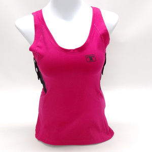 Tagua Gunleather Womans Holster Hot Pink Tank Top